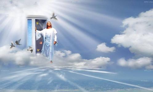 cielo-con-jesus-en-la-puerta